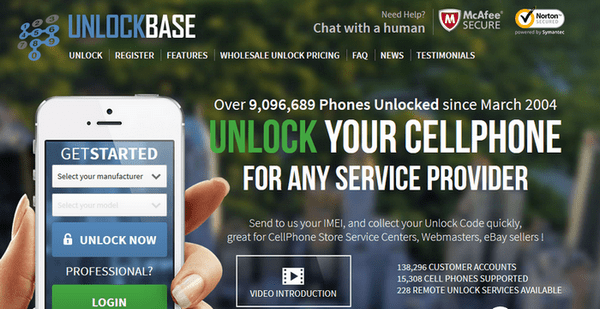 Now You Can unlock any iPhone & Android Phone to use with any network