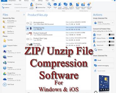 Zip File Software Download
