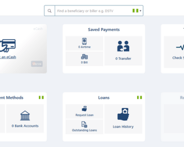 Quicteller Dashboard Page