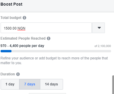 Boost Facebook Posts