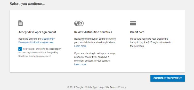 Google developer form