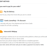 3 Ways To Pay For Jumia Products