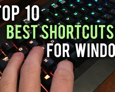 Top 10 Keyboard Shortcuts