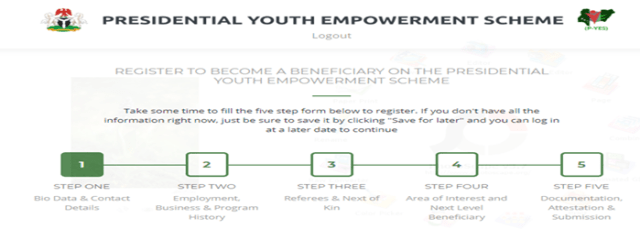 P-Yes Online Registration