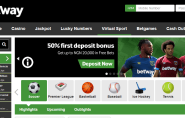 Betway online sports betting image
