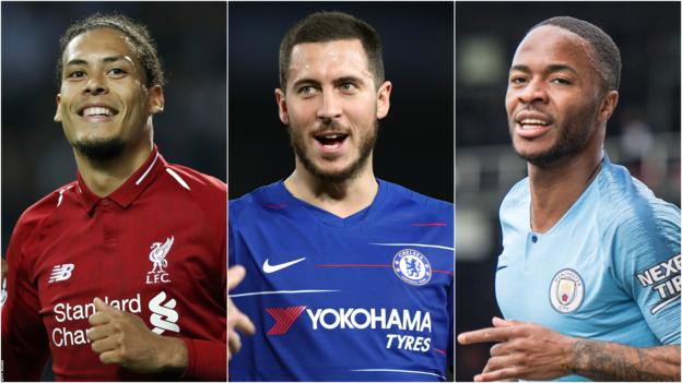 2019 PFA Player of the Year Nominees – Hazard, Sterling & Van Dijk Leads
