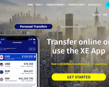 XE money transfer image 2