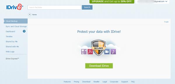 idrive image