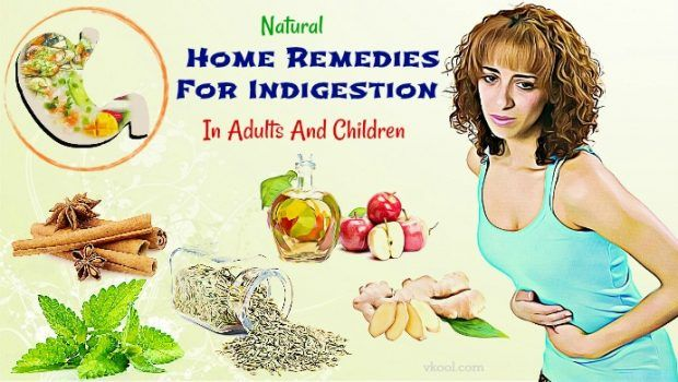 Best Fast Natural Home Remedies For Indigestion