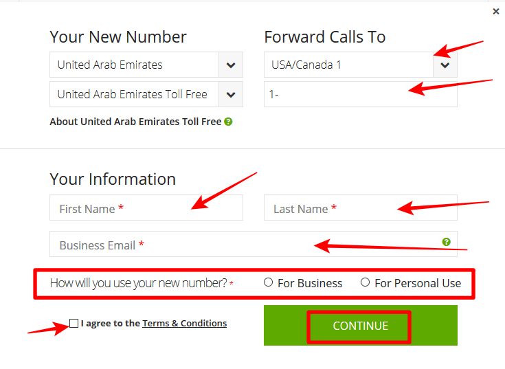 How to Get a Dubai Virtual Phone Number for Verifications, SMS, Calls and WhatsApp 4
