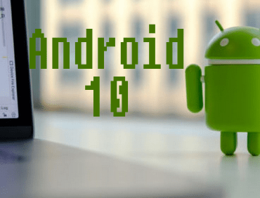 image of Android 10 Operating system