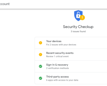 Google account risky access image 1