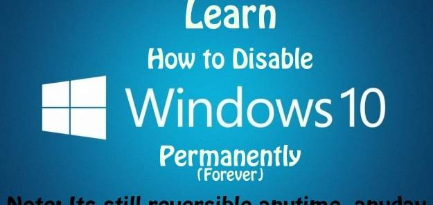 image to disable windows 10 automatic updates