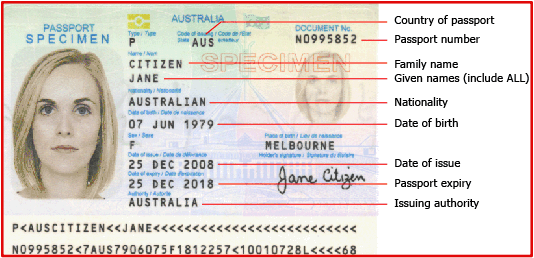 Learn where to locate your International Passport ID number