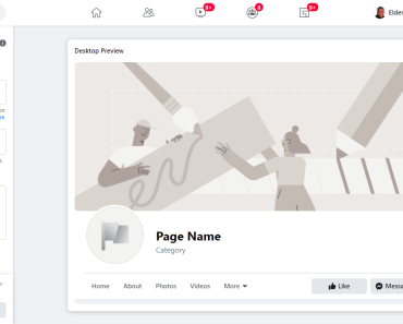 create facebook a fan page form