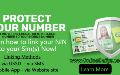 How to Link NIN to Phone Number on MTN, Airtel and Glo Network