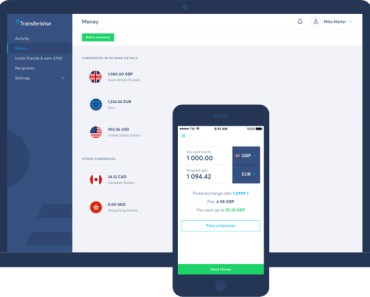 TransferWise New Account Registration