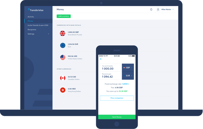 TransferWise New Account Registration | Get An Online Bank Account & Debit Card
