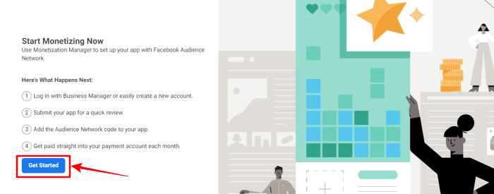 audience network facebook-get started-image