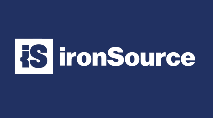 ironSource mobile ad marketing image