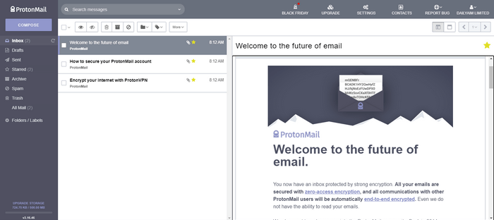 ProtonMail Sign Up New Email Account | Get ProtonMail App for your device