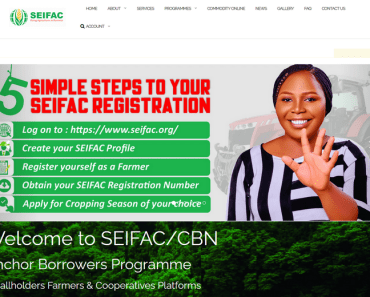 image of SEIFAC CBN Anchor Borrowers Programme