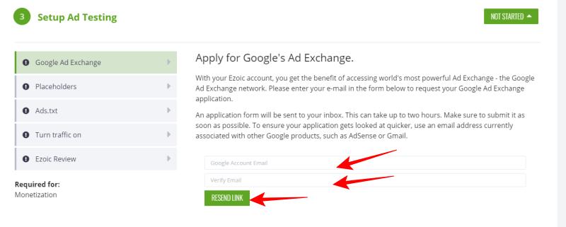 Complete Ezoic Setup Account: Using Ezoic Ad To Increase AdSense Earnings 6