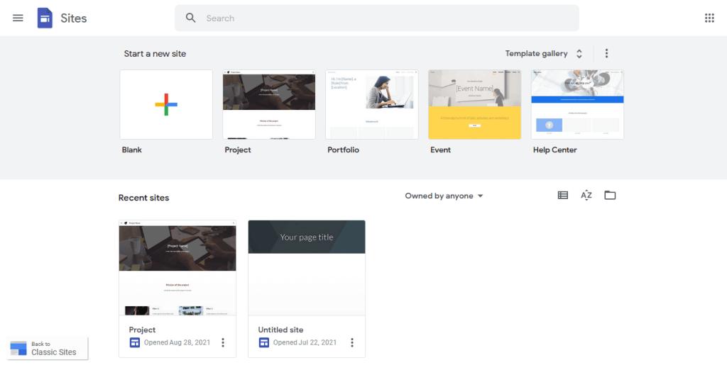 image of Google Landing Page Builder