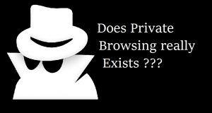 Does private browsing exists really?