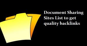 High Authority Document Sharing Sites List 2020