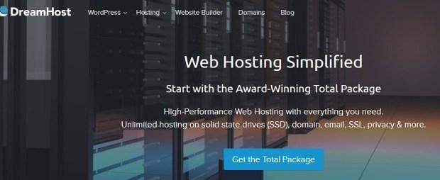 Dreamhost - Best WordPress hosting providers
