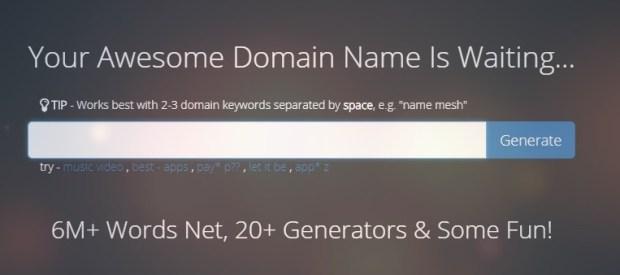 Namemesh - Top Best domain name generators