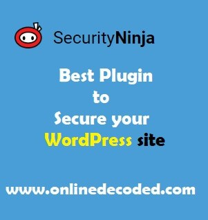 Security Ninja Review - Best Plugin To Secure Your Wordpress Site - Onlinedecoded