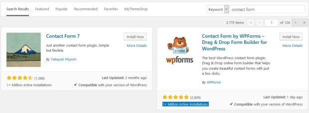 wpforms popularity