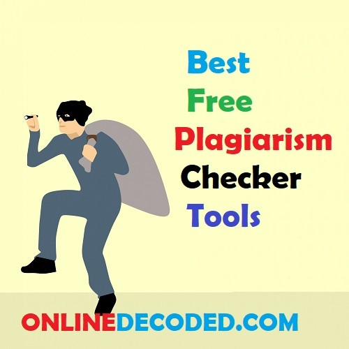 Best Free Plagiarism Checker Tools in 2020
