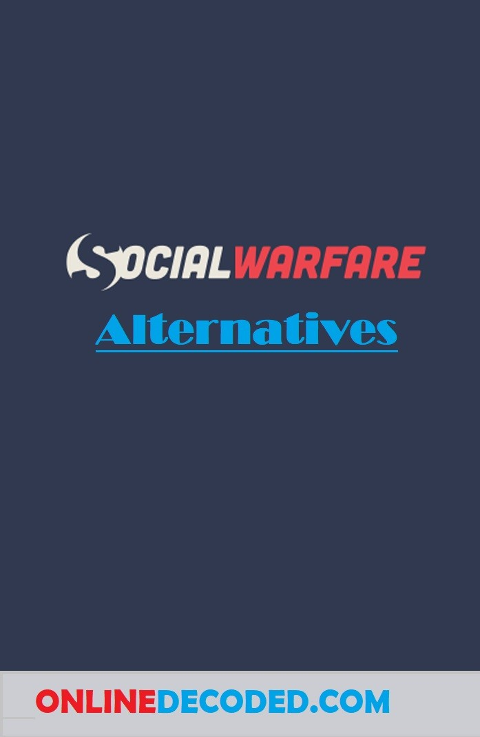 social warfare alternatives