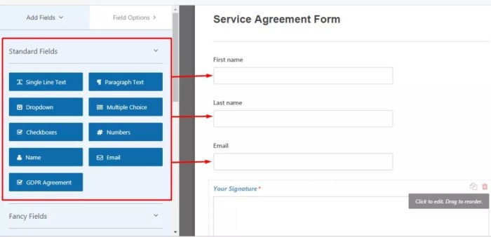 adding-form-fields-to-the-agreement-form