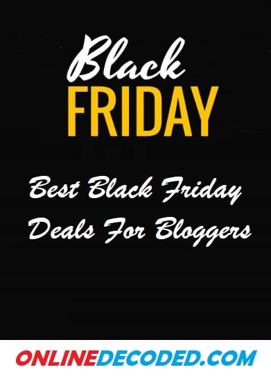 Best Black Friday Deals for Bloggers 2020 – Up to 95% Off 🔥🔥