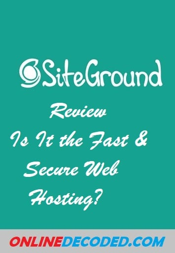 SiteGround Review : Is It the Fast & Secure Web Hosting? Check out the complete Siteground review here.