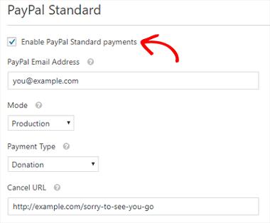 EnablePayPalPayments