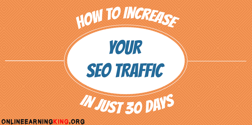 how to increase seo traffic