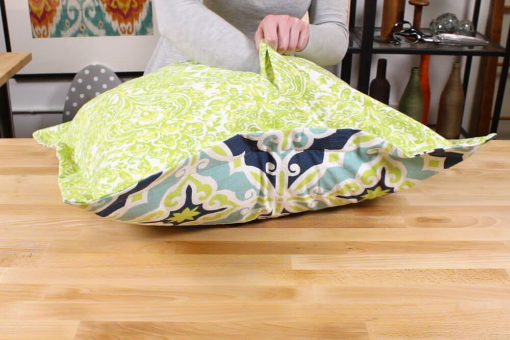 how to make flanged pillow shams ofs