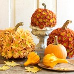Entertaining:  Beautiful Thanksgiving holiday centerpieces