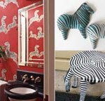 ABC's of Decorating:  Z is for zebra