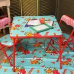 Fabric:  Fun fabrics with a retro feel