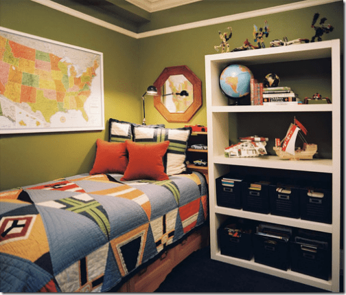 Home decor around the world with globes and maps for Boys bedroom ideas uk