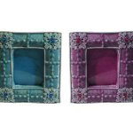 How To Cover Picture Frames with Fabric