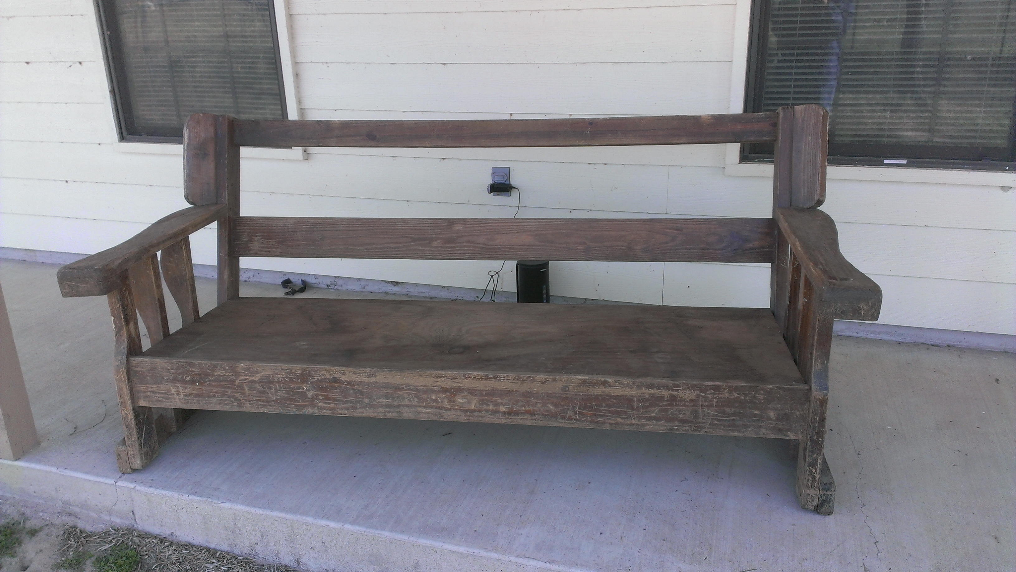 this is the bench after