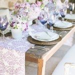 I Spy...Waverly Luminary Lilac Table Runner