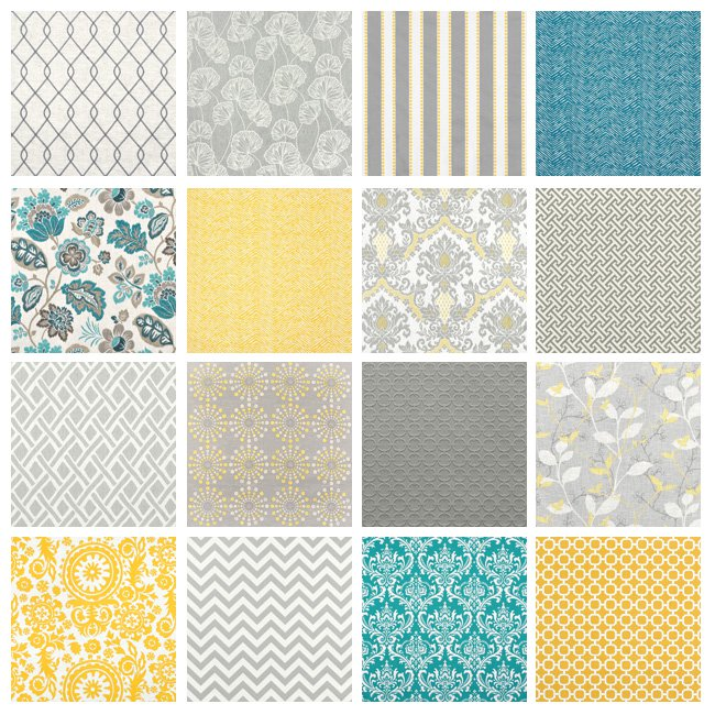 Fabric for Grey & Yellow Rooms - OnlineFabricStore.net Blog